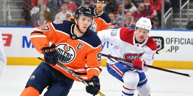 Le Canadien de Montréal s'incline 6-2 face à Connor McDavid et les Oilers