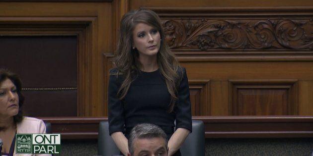 La député franco-ontarienne Amanda
