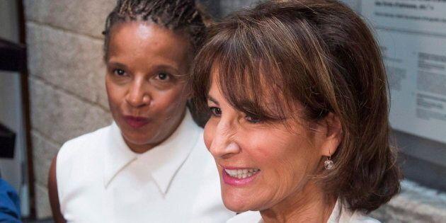 Tamara Thermitus, à gauche et Kathleen Weil à