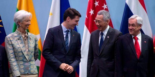 Trudeau veut lancer des négociations sur un accord de libre-échange avec
