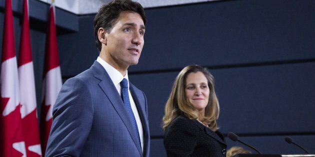 Contrairement à ce qu'avancent le premier ministre Trudeau et la ministre Chrystia Freeland, la signature de l'AÉUMC ne représente pas un virage vers des horizons radieux.