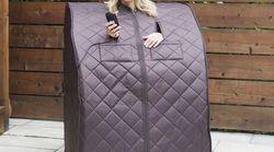 Vous avez froid? Emportez votre sauna