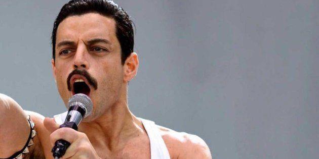 Rami Malek, qui incarne Freddie Mercury dans Bohemian Rhapsody.