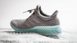 Adidas propose une chaussure faite de plastique retiré des