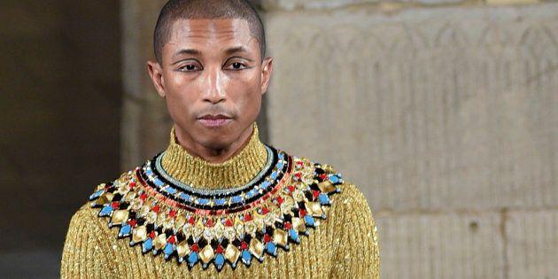 Pharrell Williams a défilé à New York pour Chanel