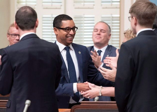 Lionel Carmant, ministre délégué à la Santé et aux Services sociaux, a présenté le deuxième projet de loi du gouvernement Legault mercredi, 5 décembre.