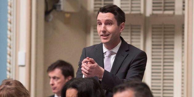 André Fortin, porte-parole de l'opposition officielle en matière de Santé, a voulu tourner au ridicule...