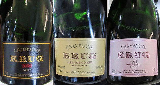 Les 3 champagnes suivants