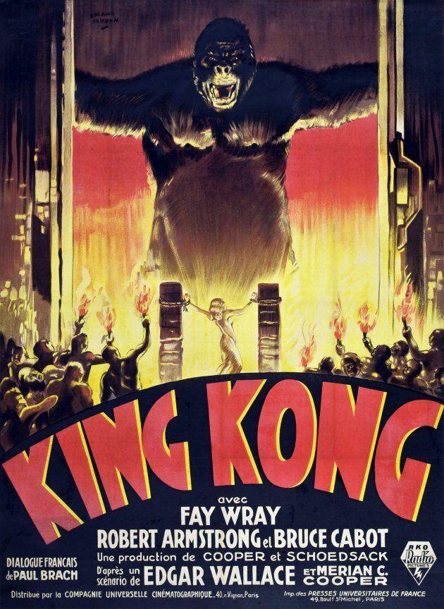 King Kong, affiche de