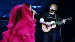 Ed Sheeran réagit à sa photo avec Beyoncé qui a ouvert un vrai