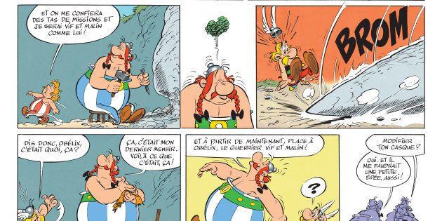 Les 5 albums Astérix qu'il faut avoir lus (selon un universitaire spécialisé) - En illustration, un extrait
