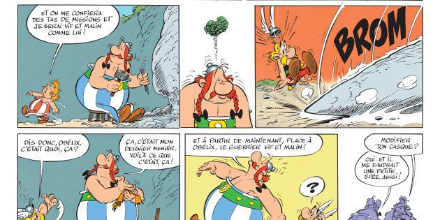 Les 5 albums Astérix qu'il faut avoir lus (selon un universitaire spécialisé) - En illustration, un extrait de