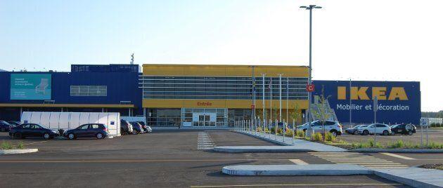 La chaîne de magasins Ikéa a ouvert une succursale à Québec le 22 août.