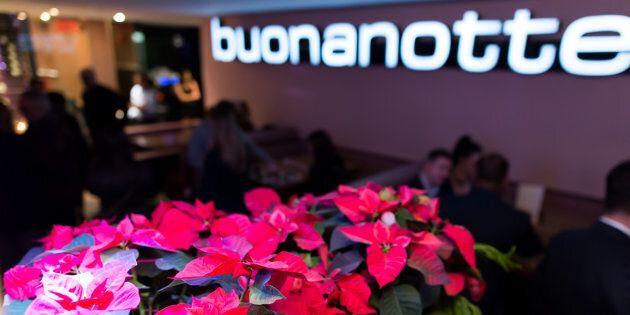 Le restaurant Buonanotte a fermé ses portes en 2018.