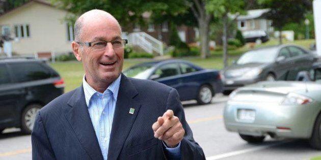 Le maire de Trois-Rivières, Yves Lévesque,
