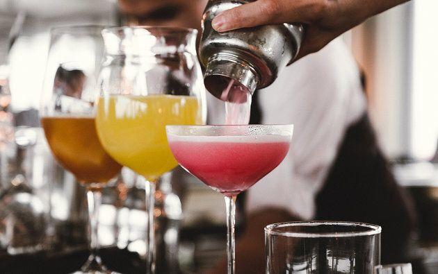 Différents cocktails