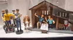 La crèche «hipster» de l'oratoire Saint-Joseph est...