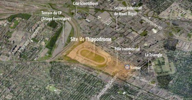 La mairesse de Montréal, Valérie Plante, veut construire 8100 logements sur le site de l'ancien hippodrome...
