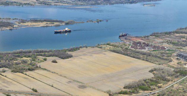 Le Port de Montréal souhaite construire un nouveau terminal portuaire à Contrecoeur, sur la Rive-Sud.
