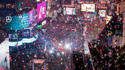 Deux millions à Times Square? Sûrement pas, selon des