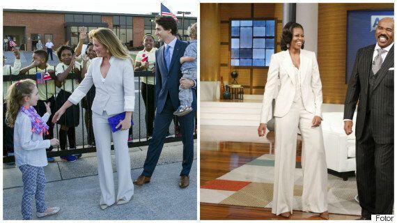 Le match des Premières dames: qui est la mieux habillée?