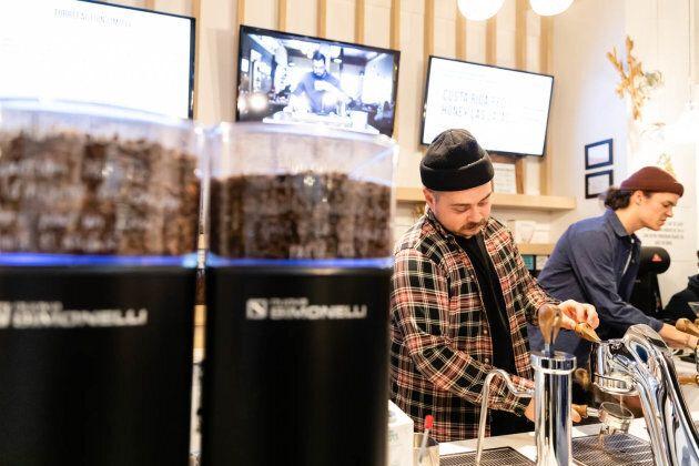 Les Brûleries Faro ouvrent leur 1er café à