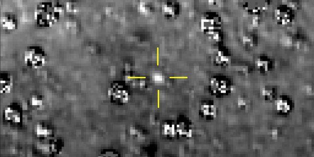 Cette image composite de la NASA montre un objet de la ceinture de Kuiper surnommé «Ultima Thule».