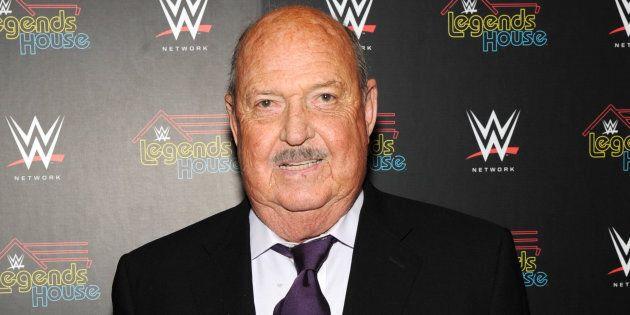 L'interviewer de la WWE «Mean Gene» Okerlund est