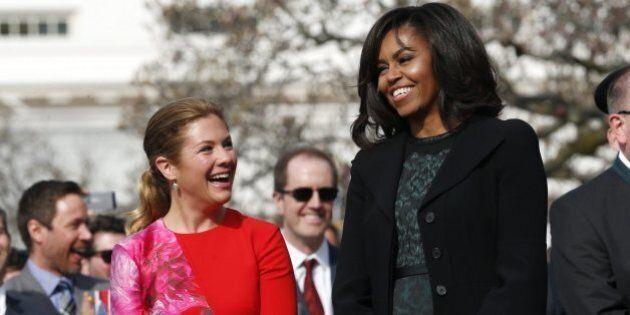 Sophie Grégoire et Michelle Obama s'unissent pour l'éducation des jeunes