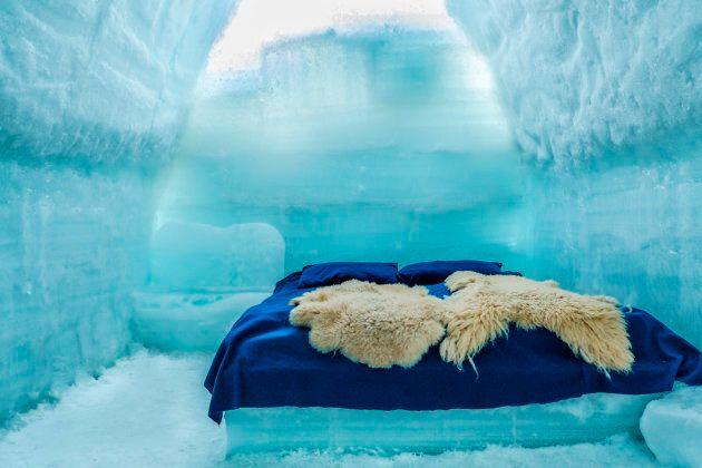 Dormir dans un hôtel de glace en Roumanie?