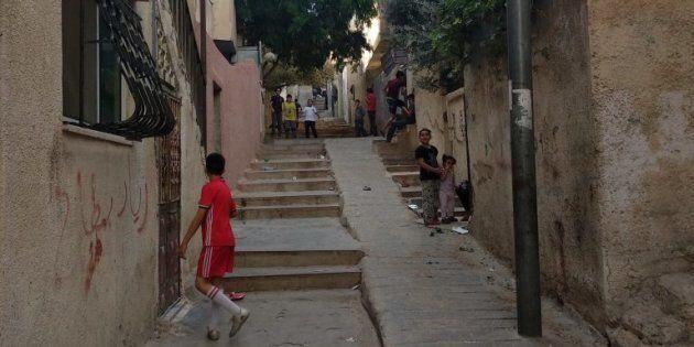 Dans les ruelles de Jabal el-Hussein