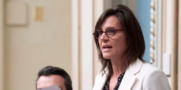 Isabelle Charest dénonce l'intimidation à l'endroit de Maxime