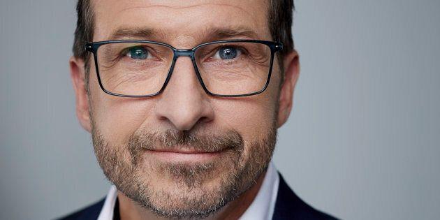 Le candidat à la direction du Bloc québécois, Yves-François