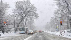 Jusqu'à 15 cm de neige mardi au