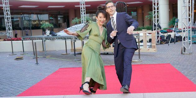 Sandra Oh et Andy Samberg animent les Golden Globes dimanche