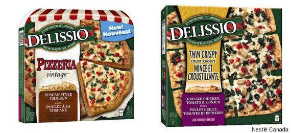 Rappel de pizzas surgelées Delissio pouvant contenir de la