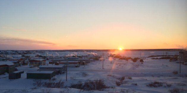 Au Nunavik, plus de 90 % du parc immobilier est constitué de logements