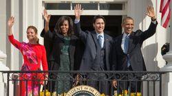 Accueil chaleureux pour Trudeau à Washington