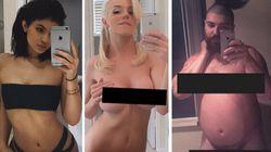 Des célébrités s'amusent avec le selfie de Kim Kardashian nue