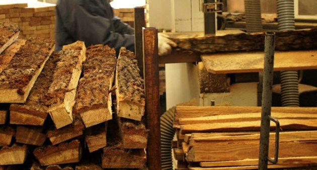 Sciage du bois