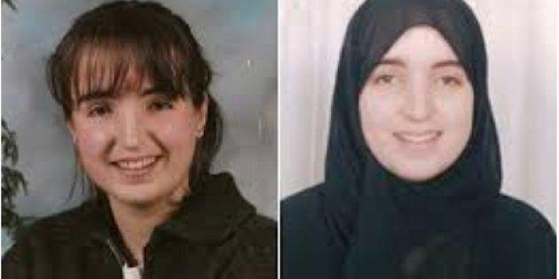 Nathalie Morin (à gauche: en 1999 au Canada, et à droite: en 2007 en Arabie saoudite )