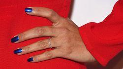 On adopte les ongles bleus pour le printemps