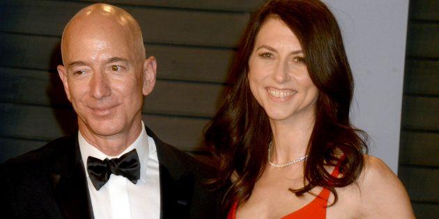 Jeff Bezos et sa femme MacKenzie Bezos sont sur le point de se