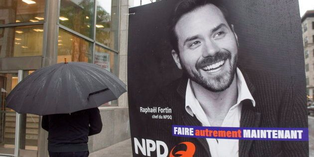 Le NPDQ, un parti de gauche «non souverainiste», a obtenu 0,57% des voix lors des élections provinciales...