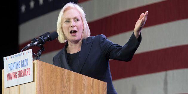 La sénatrice démocrate Kirsten Gillibrand vise la