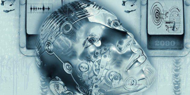 Afin de l'utiliser efficacement, l'humain aligne — consciemment, puis inconsciemment — son comportement et sa pensée sur le modèle plus standard de l'IA. C'est un humain qui se robotise par anticipation.