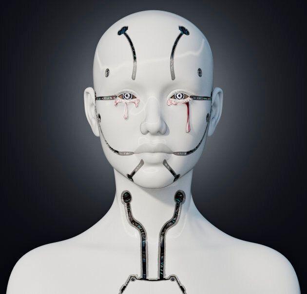 Un robot androide. Qui imite qui à la fin?