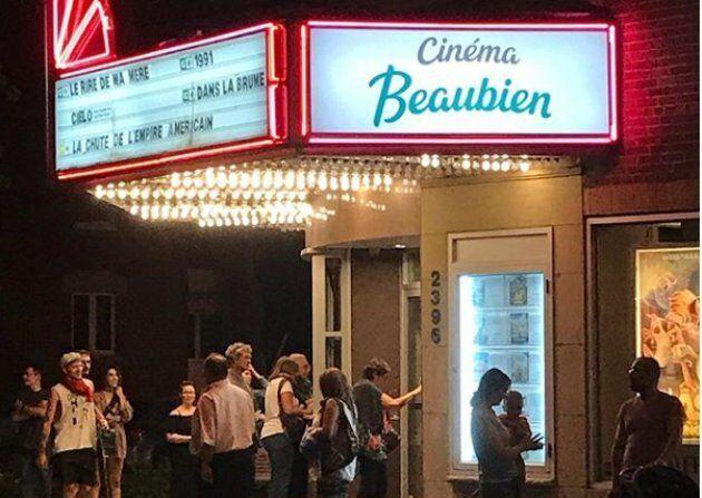 Le Cinéma Beaubien, à Rosemont, fait partie des salles de diffusion qui amènent d'importantes retombées économiques dans les quartiers de Montréal, selon la Ville.