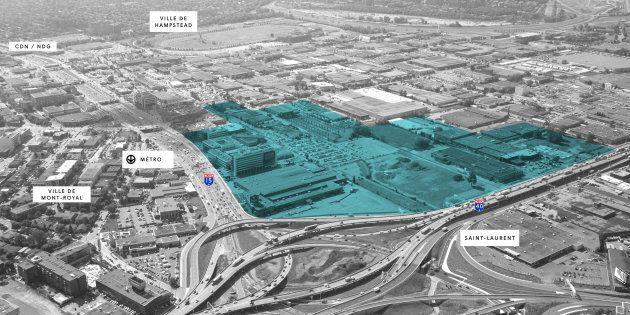 Le secteur entourant le projet Royalmount pourrait subir d'importants problèmes de congestion. La Ville de Mont-Royal, où est situé le projet, n'y croit toutefois pas.
