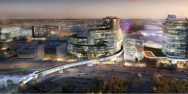 Le projet Royalmount suscite la controverse, notamment à cause des problèmes de congestion qui pourraient survenir sur les autoroutes 15 et 40, à Montréal.